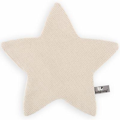 Doudou plat étoile Classic sable (30 x 30 cm) Baby's Only
