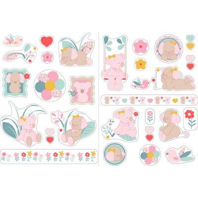 Stickers muraux Iris & Lali  par Nattou