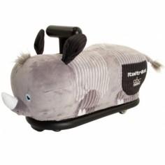Porteur peluche rhinocéros