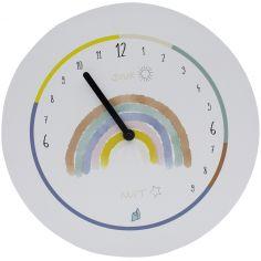 Horloge Formidable éducative Arc-en-ciel et ses 20 aimants