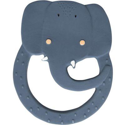 Anneau de dentition en caoutchouc Mrs. Elephant  par Trixie