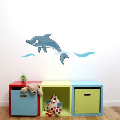 Stickers muraux Bébé dauphin  par Série-Golo