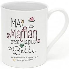 Mug Ma maman c'est la plus belle