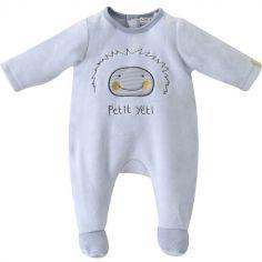 Pyjama Dors bien Petit Yeti ciel (12 mois)