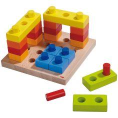 Cubes multicolores (19 x 19 cm)