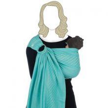 Echarpe de portage avec anneaux BB-Sling coton bio turkish delight  par Babylonia carriers