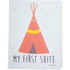 Tableau tipi My first suite (30 x 40 cm)
