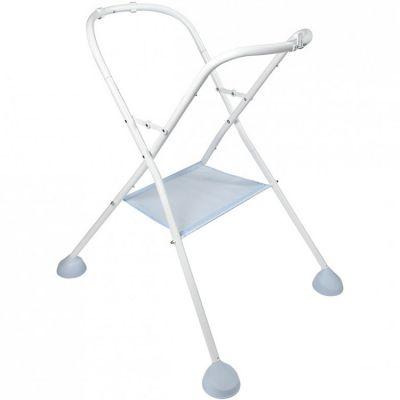 Support de baignoire et plan à langer Camélé'O gris et bleu  par Béaba