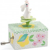 Cube manivelle Lapin dans le jardin - Little big room by Djeco