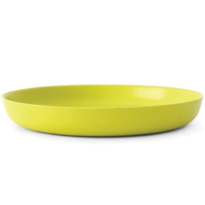 Assiette en bambou Bambino vert citron (18 cm)  par EKOBO