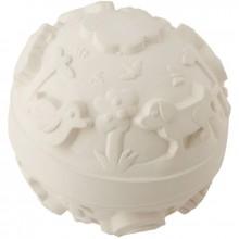 Balle monde latex d'hévéa blanche  par Oli & Carol