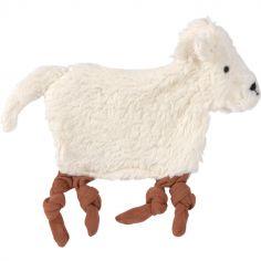 Doudou attache sucette Tiny Farmer Mouton