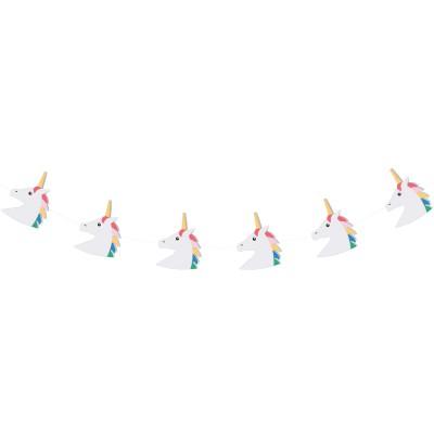 Guirlande en papier Licorne