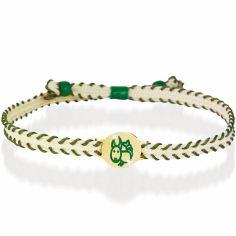 Bracelet cordon Primegioie Zodiaque Capricorne (or jaune 375°)