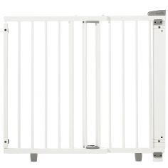 Barrière de sécurité Plus pour portes blanche (86 à 133 cm)