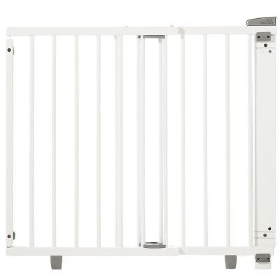 Barrière de sécurité Plus pour portes blanche (86 à 133 cm) Geuther