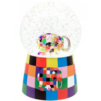 Boule à neige musicale Elmer  par Trousselier