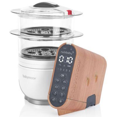 Coque personnalisée effet bois pour robot cuiseur Nutribaby(+)  par Babymoov