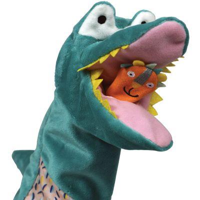 Marionnette à main Crocodile Jungle Boogie  par Ebulobo