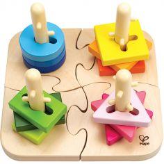 Puzzle et jeu à encastrer boutons créatifs