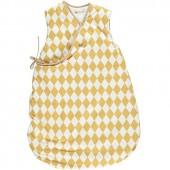 Gigoteuse 4 saisons Montreal Losange jaune miel TOG 1.7 (65 cm) - Nobodinoz