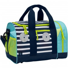 Sac de sport Little Monsters Bouncing Bob bleu