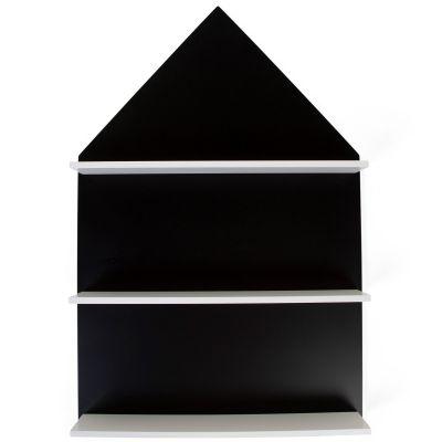 Tableau à dessin étagère maison noir  par Childhome
