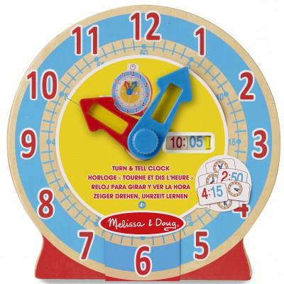 Horloge Tourne et dis l'heure Melissa & Doug