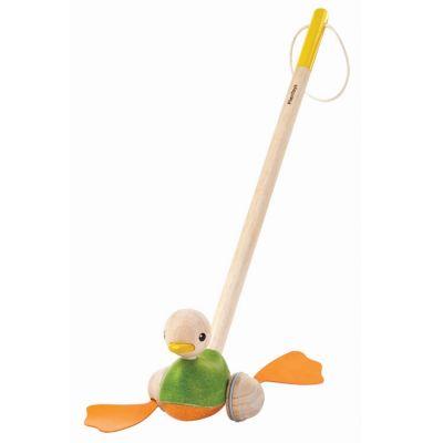 Canard à pousser  par Plan Toys