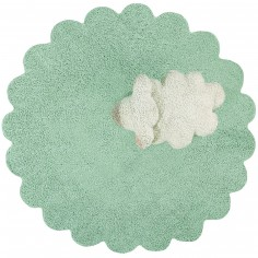 Tapis lavable mouton Puffy sheep