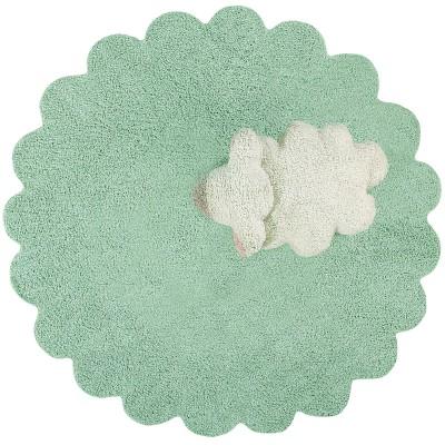 Tapis lavable mouton Puffy sheep  par Lorena Canals