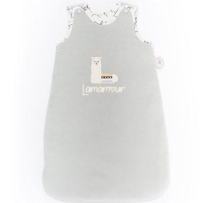 Gigoteuse chaude grise Lamamour (70 cm)  par Nougatine