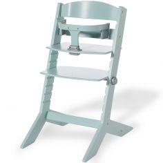 Chaise haute Syt évolutive vert menthe