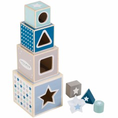 Cubes empilables Mixed Stars Mint (4 cubes)