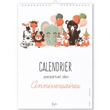 Calendrier perpétuel des anniversaires Les Animignons  par Kanzilue