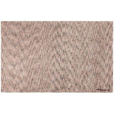 Tapis lavable chiné gris foncé crème et rose (140 x 200 cm)  par Lorena Canals