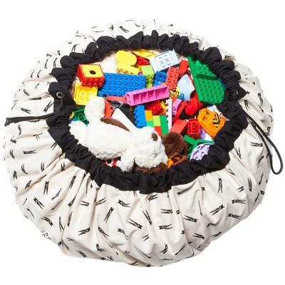 Sac à jouets 2 en 1 pince à linge  par Play&Go