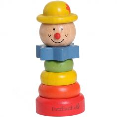 Pyramide en bois clown