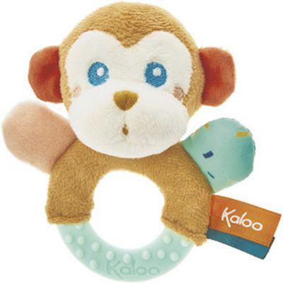 Hochet de dentition Sam le singe Kaloo