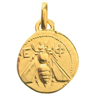 Pendentif Abeille d'Ephèse (or jaune 750°)  par Monnaie de Paris