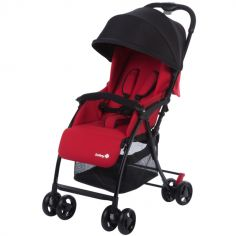 Poussette canne multipositions Urby Plain Red