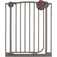 Barrière de sécurité auto close en métal taupe