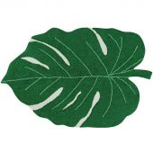 Tapis lavable Monstera Leaf vert (120 x 160 cm) - Lorena Canals
