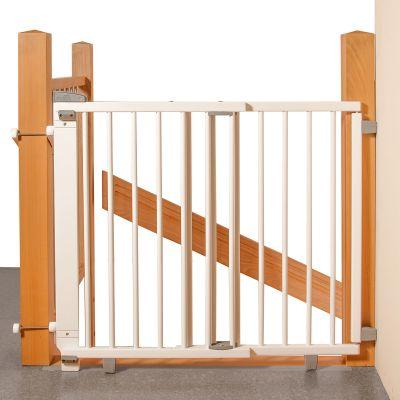 Barriere De Securite Plus Pour Escalier Blanche 67 A 107 Cm