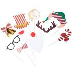 Accessoires pour photos Noël traditionnel (10 pièces)