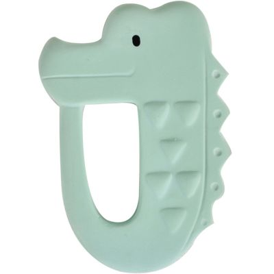Anneau de dentition crocodile Mon premier animal safari  par Tikiri