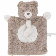 Doudou plat attache sucette Tétinous ours Les naturels (24 cm)