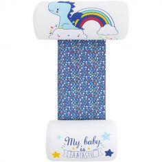Cale bébé Enjoy & Dream imprimé bleu