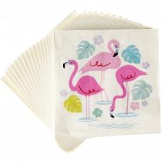 Serviette en papier Flamingo Bay (20 pièces)