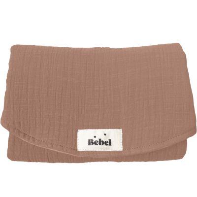 Mini tapis à langer terracotta Comme un bonbon  par BEBEL